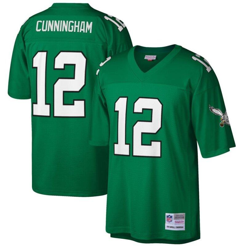 Randall Cunningham Jersey of the Philadelphia Eagles - Throwback