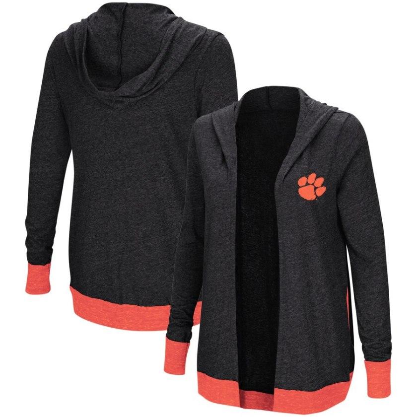 Women's Clemson Tigers Cardigan Shirt on Clearance