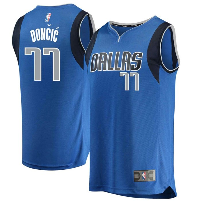 Luka Doncic Jersey in Blue S-3X 4X 5X