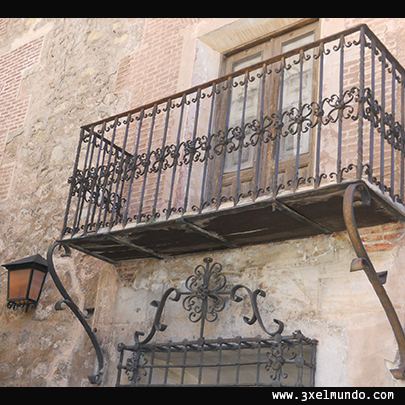 balcón de casa de Albarracín