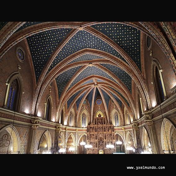interior iglesia San Pedro Teruel