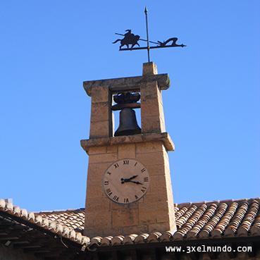 reloj Plaza Mayor Albarracín