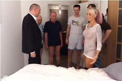 Amatőr gangbang szexvideók