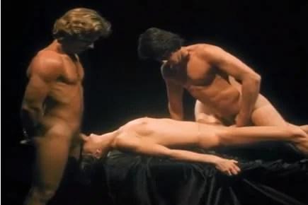 Retro porn - Marylin Chambers threesome