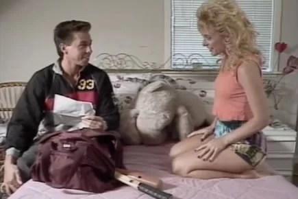 Retro porn - Peter North bedroom sex