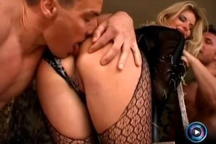 Classic porn - Angelika Grays gangbang