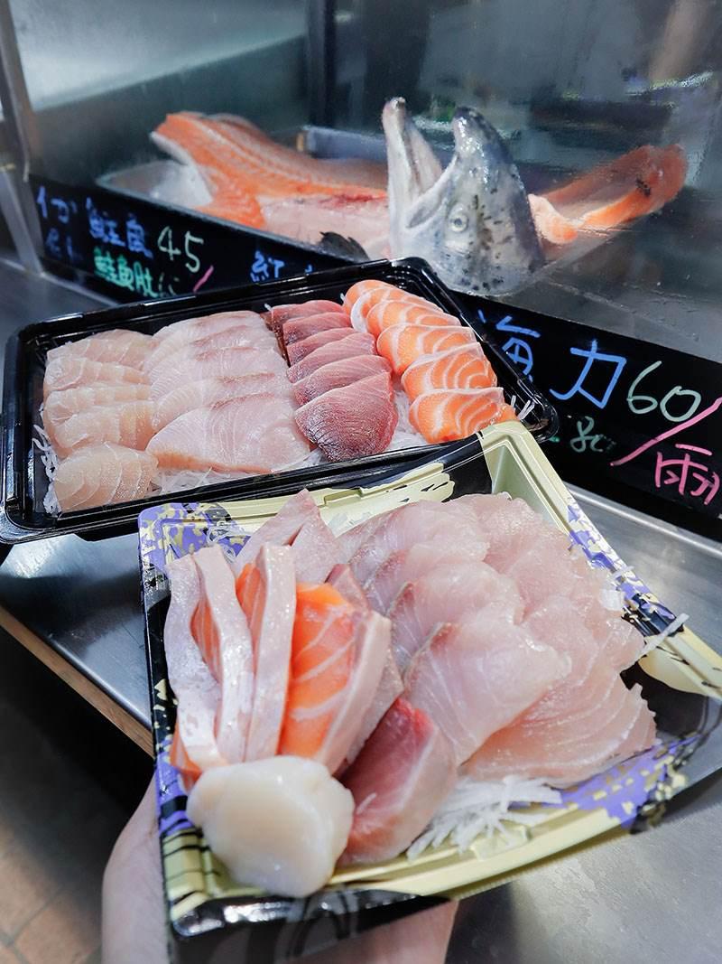 御八生魚片,竹北生魚片,竹北公有市場