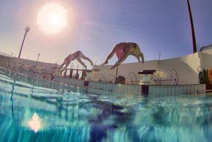 3YO Training camps pool