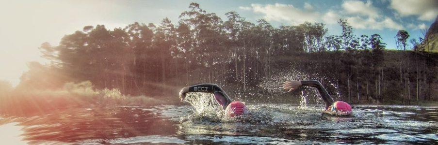open water swim slider