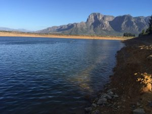 Boschendal open water swim January 13
