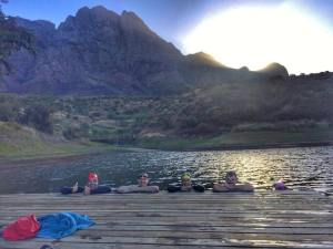 Boschendal open water swim 24th March 2017