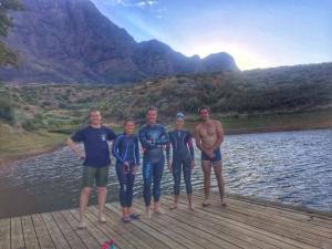 Open water swim Stellenbosch