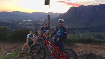 Mountain bike session