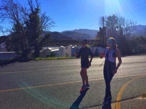Long run Cape town marathon