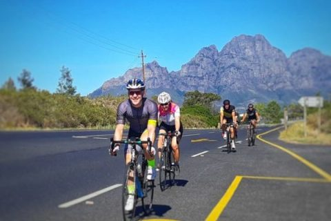 Road cycling Franschhoek