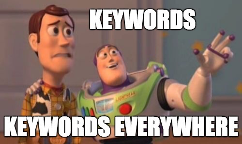 Image result for seo keywords memes