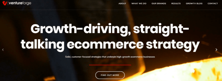venture-forge-ecommerce-agency-website