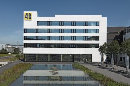 Hauptsitz von 4B in Hochdorf
