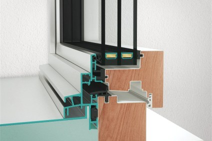 Querschnitt des Neubaufensters NF1