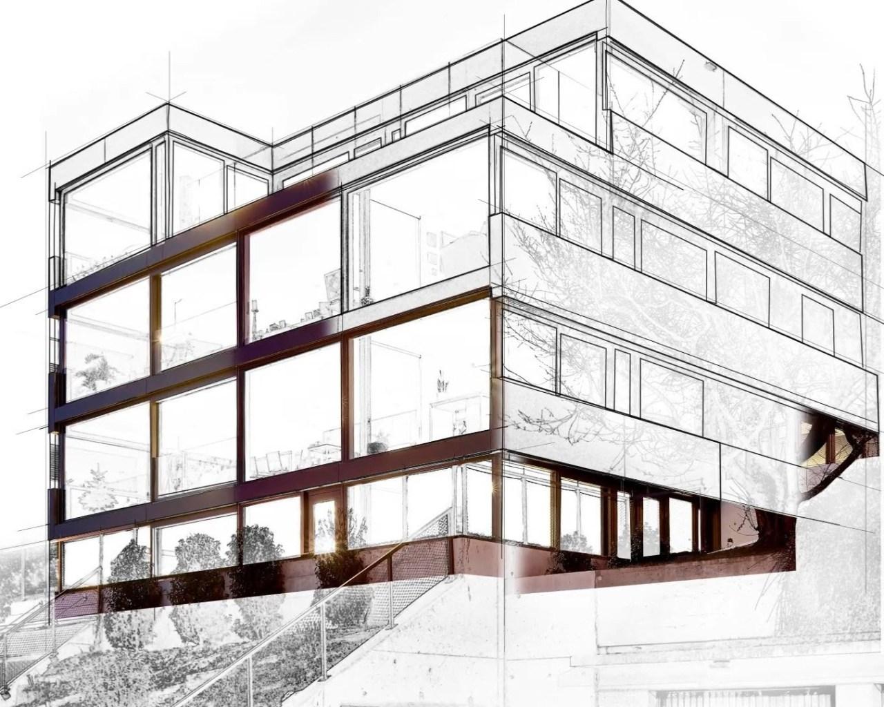Illustration Projektplanung mit BIM