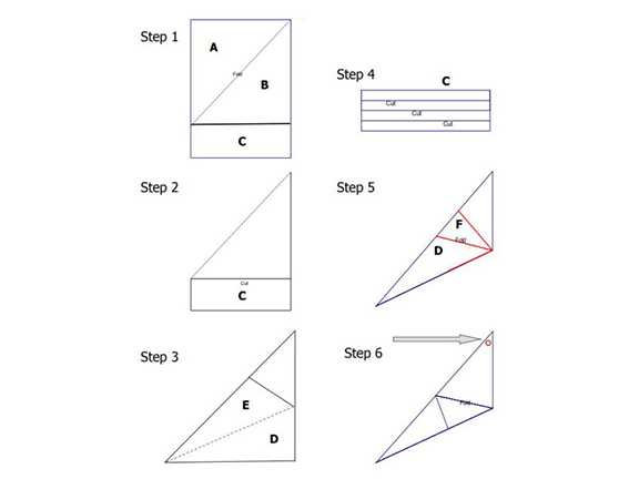 Step-by-step instructions on building a kite