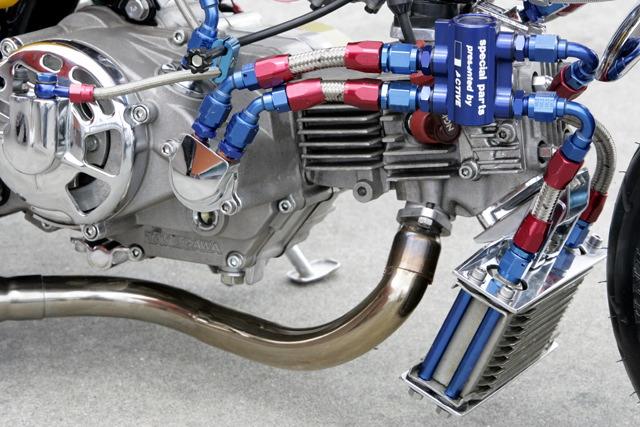 バイクのオイルクーラー - 取付時の注意点