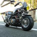 モンキーカスタム ベース車両:モンキー 排気量:100cc 8インチの太足系ローダウン仕様
