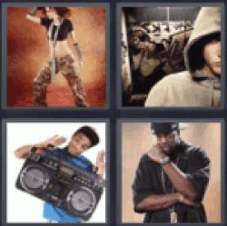 4 pics 1 word hip hop dancer - www.4-Pics-1-Word.com