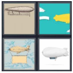 4 pics 1 word flying blimps - 4-Pics-1-Word.com