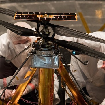 NASA Ingenuity helicopter prepares for the first powered, controlled flight on another planet