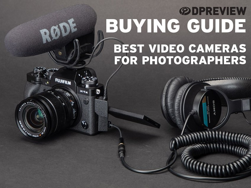 Best video cameras for photographers in 2021