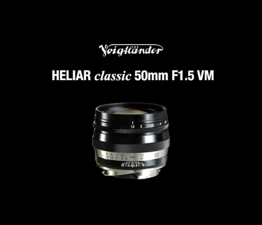 Cosina announces $825 Voigtlander  Classic 50mm F1.5 lens, will be available in September