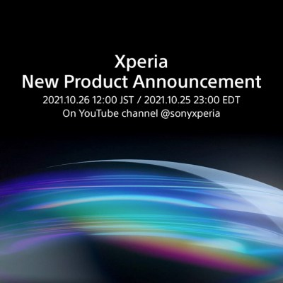 Sony teases a new Xperia product announcement set for October 26 livestream