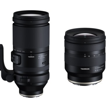 Tamron announces APS-C 11-20mm F2.8, full-frame 150-500mm F5–6.7 zooms for Sony E mount