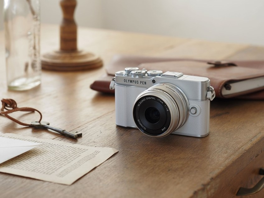 Here's the Olympus PEN E-P7 and here's what it means…