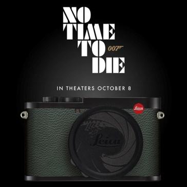 Leica's Q2 '007 Edition' camera celebrates 'No Time to Die,' the 25th Bond film