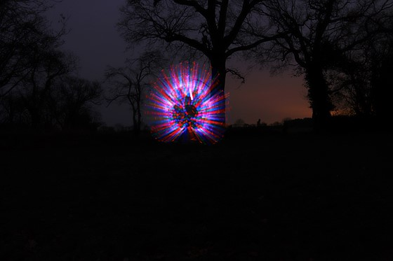 Canon Light Painting
