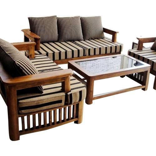 Cane Sofa In Pune: Second Hand Wooden Sofa Set In Pune