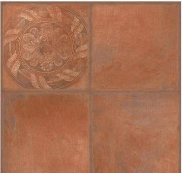 cotto rouge decor floor tile
