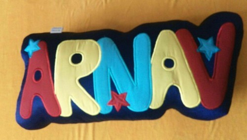 personalized name cushion manufacturer