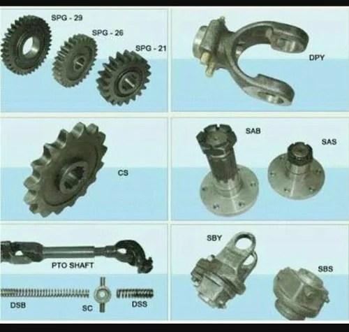 Rotavator All Spare Parts