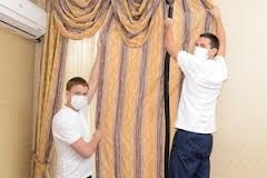 curtain dry cleaning services in delhi