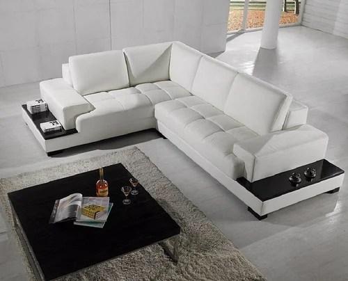 leather l shape sofa