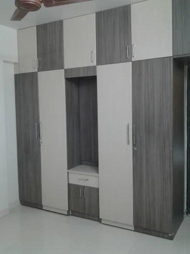Modular Furniture Wardrobe With Dressing Unit Manufacturer From Pune