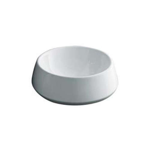 kohler stadia round vessels lavatory basin in white
