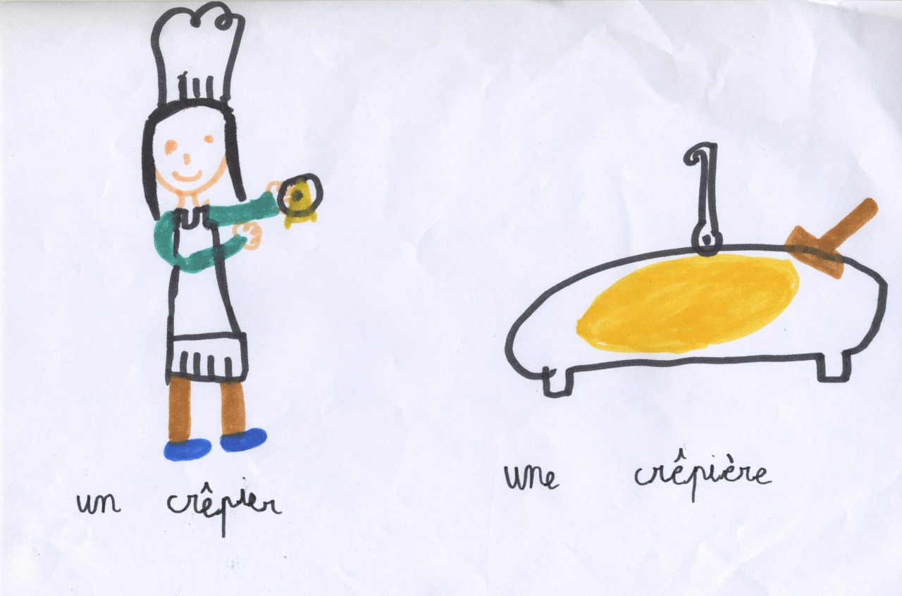 Dessin de Jeanne, 7 ans.
