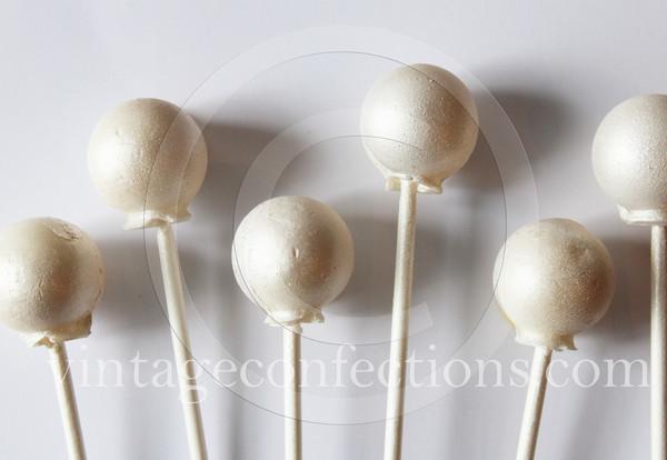 Mystery Message edible art lollipops