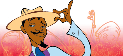 Black History Month in Animation:Sunny Bridges from Class of 3000 (voiced by Andre Benjamin)Sunny is the musical genius who left a life of fame as a recording artist and was convinced by his biggest fan Lil'D and his friends to become the new music teacher at his old school, Westley School for the Performing Arts. He is deeply devoted to his students learning valuable lessons, all the while making music and having fun at the same time.Find the other characters I've honored here