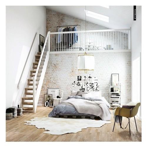 Monochromatic Bedroom Tumblr
