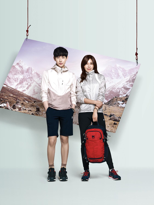 ZE:A Siwan and A Pink Eun Ji - M-Limited S/S 2015